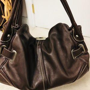 Francesco Biasia Leather Hobo Bag